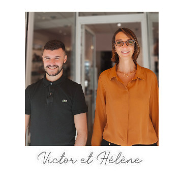 Victor et Hélène vous accueillent dans la boutique de Nantes